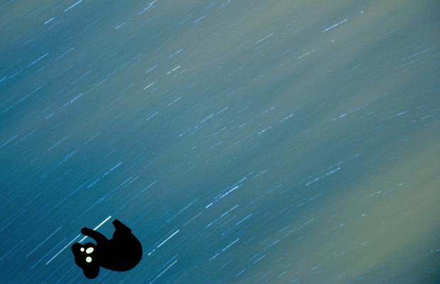 """""""Koala traveling in a star"""""""