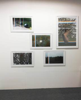 Installation shot at Parc Lima Art Fair